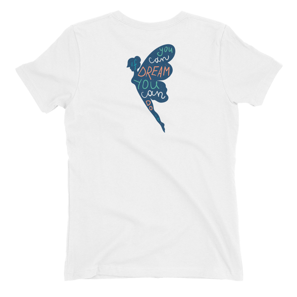 If You Can Dream It - Blue Back Print Women's t-shirt - The School Counselor Shop  Great gifts and items for school and guidance counselors. School Counseling, Counseling, School Shirts, Counseling Apparel