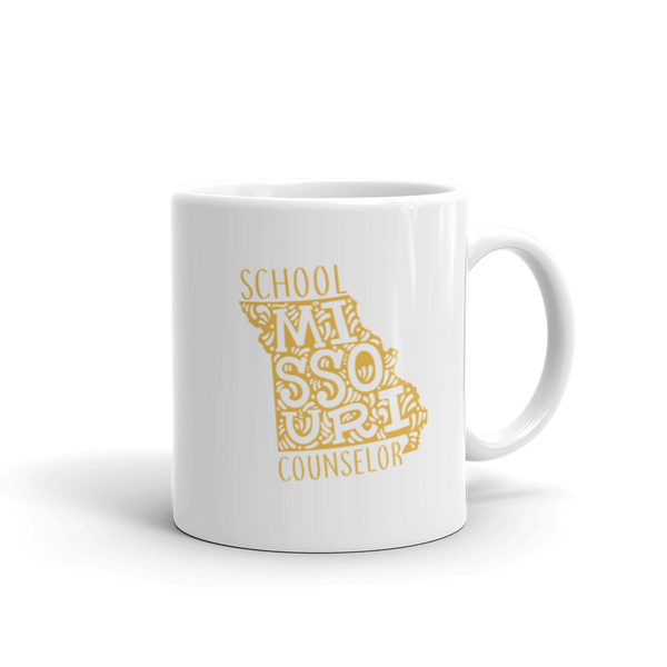 MO School Counselor Mug - The School Counselor Shop  Great gifts and items for school and guidance counselors. School Counseling, Counseling, School Shirts, Counseling Apparel