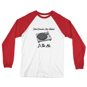 In The Mix B+C Long Sleeve Baseball T-Shirt - The School Counselor Shop  Great gifts and items for school and guidance counselors. School Counseling, Counseling, School Shirts, Counseling Apparel