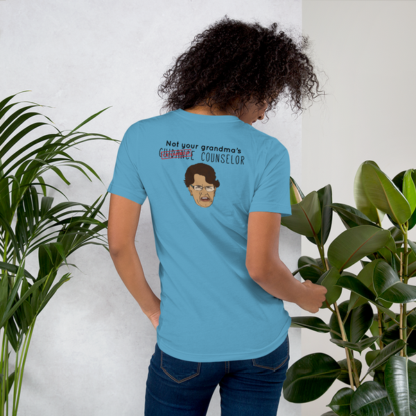 Not Your Grandma's  B+C Short-Sleeve Unisex T-Shirt - The School Counselor Shop  Great gifts and items for school and guidance counselors. School Counseling, Counseling, School Shirts, Counseling Apparel