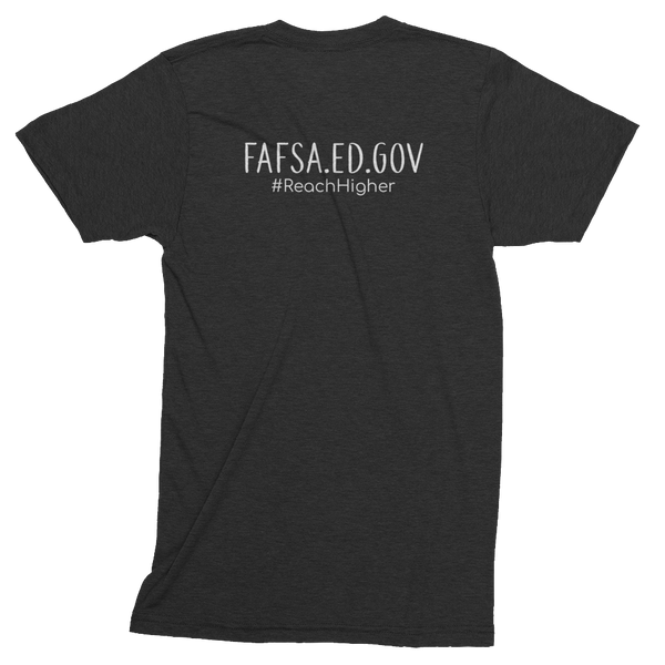 Get That Paper Franklin FAFSA American Apparel Short sleeve soft t-shirt - The School Counselor Shop  Great gifts and items for school and guidance counselors. School Counseling, Counseling, School Shirts, Counseling Apparel