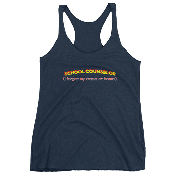 Super School Counselor Women's tank top - The School Counselor Shop  Great gifts and items for school and guidance counselors. School Counseling, Counseling, School Shirts, Counseling Apparel