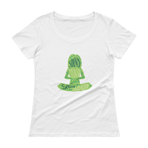 Sound Minds - Green Anvil 391 Ladies' Scoopneck T-Shirt - The School Counselor Shop  Great gifts and items for school and guidance counselors. School Counseling, Counseling, School Shirts, Counseling Apparel