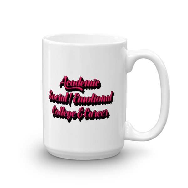 3 Domains - Mug - The School Counselor Shop  Great gifts and items for school and guidance counselors. School Counseling, Counseling, School Shirts, Counseling Apparel