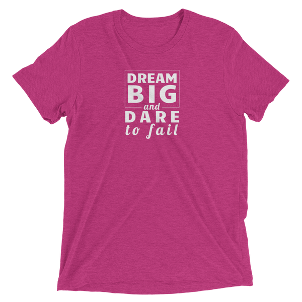 Dare to Fail - B+C 3413 Unisex Short sleeve t-shirt - The School Counselor Shop  Great gifts and items for school and guidance counselors. School Counseling, Counseling, School Shirts, Counseling Apparel