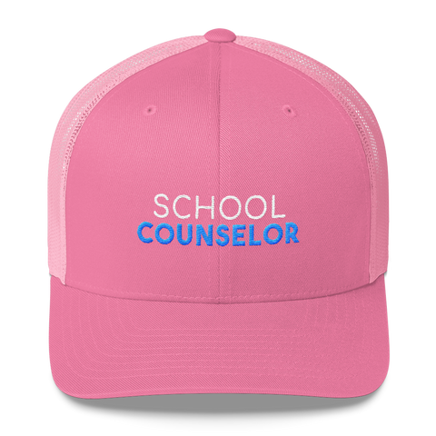 School Counselor Retro Trucker Hat