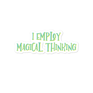 Magical Thinking Bubble-free stickers for school counselors, teachers and administrators - The School Counselor Shop  Great gifts and items for school and guidance counselors. School Counseling, Counseling, School Shirts, Counseling Apparel