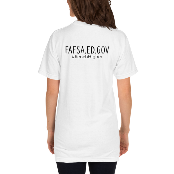 Get That Paper Franklin FAFSA Dark American Apparel Short sleeve men's t-shirt - The School Counselor Shop  Great gifts and items for school and guidance counselors. School Counseling, Counseling, School Shirts, Counseling Apparel