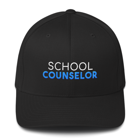 School Counselor - Structured Twill Cap - The School Counselor Shop