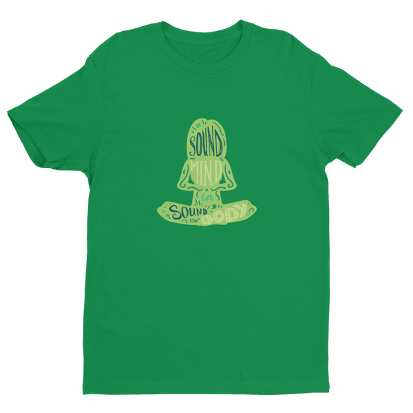 Sound Minds - Green NL 3600 Short Sleeve T-shirt - The School Counselor Shop  Great gifts and items for school and guidance counselors. School Counseling, Counseling, School Shirts, Counseling Apparel