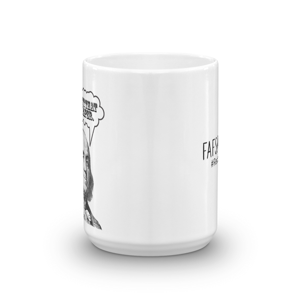 Get That Paper FAFSA Ceramic Mug - The School Counselor Shop  Great gifts and items for school and guidance counselors. School Counseling, Counseling, School Shirts, Counseling Apparel