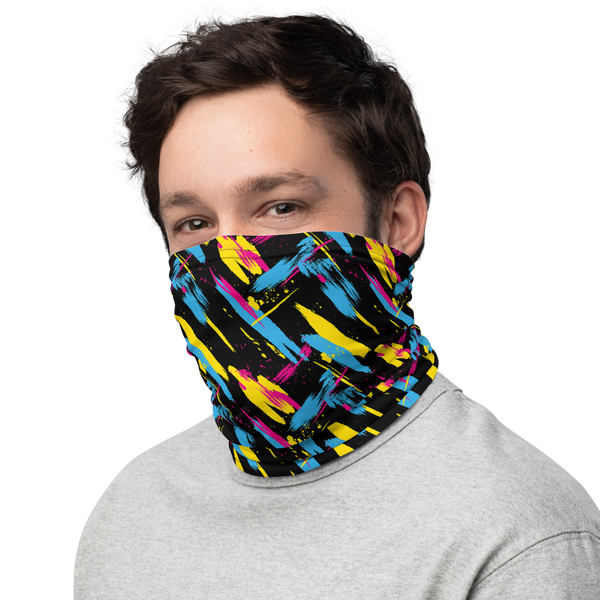 80's Fashion Face Mask and Neck Gaiter