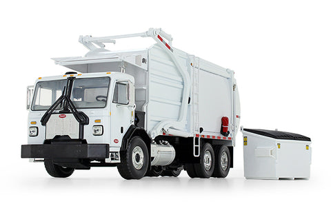 Peterbilt 520 Refuse Truck with Wittke Front End Loader with Bin