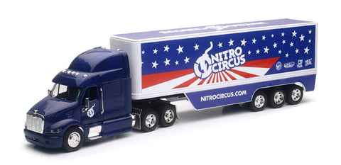 Nitro Circus Peterbilt with 3-Axle Dry Van Trailer