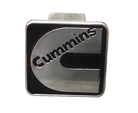 Black Cummins Hitch Cover