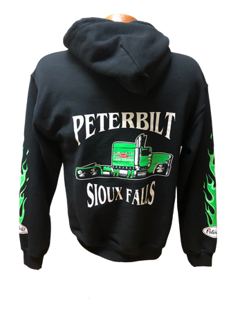 Green and Black Hoodie