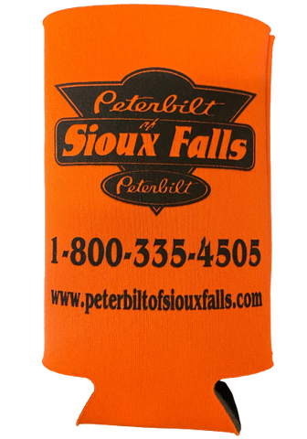 Orange Tall Boy Koozie