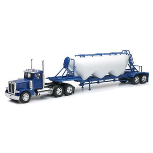 Peterbilt 379 with Pneumatic Dry Bulk Trailer
