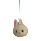 Ltd. Pop Cutie PomPom Bunny Necklaces  - 6 pcs. Wholesale