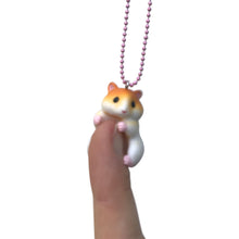 Load image into Gallery viewer, Ltd. Pop Cutie Hugging Hamster Necklaces - 6 pcs. Wholesale