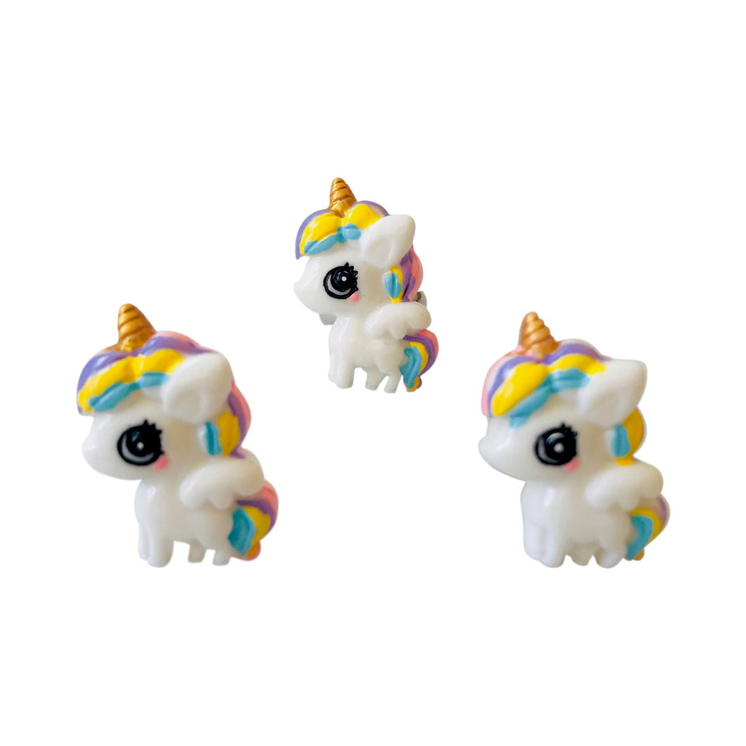 Pop Cutie Cute Unicorn Ring (12 pcs) Wholesale