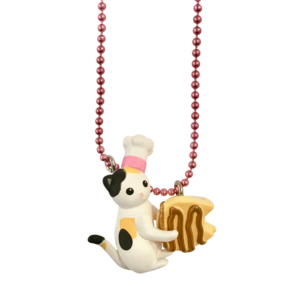 Ltd. Pop Cutie Kats Kitchen Necklaces - 6 pcs. Wholesale