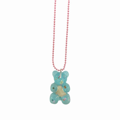 Pop Cutie Gacha Mermaid Gummy Bear Necklaces