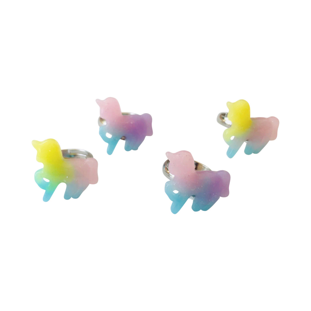 Pop Cutie Harajuku Unicorn Ring (12 pcs) Wholesale