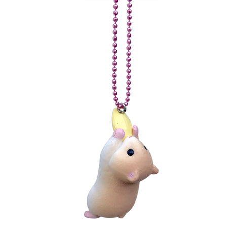 Ltd. Pop Cutie Hugging Hamster Necklaces - 6 pcs. Wholesale