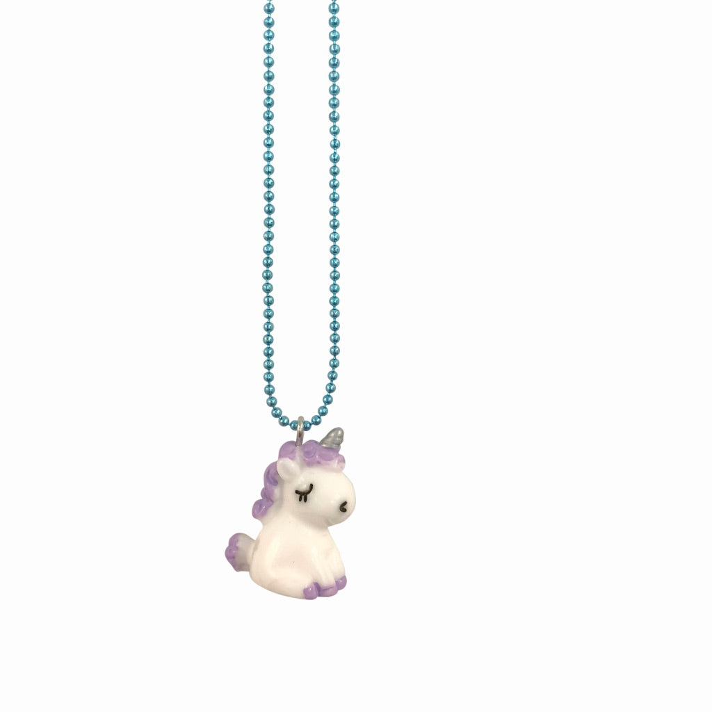 Pop Cutie Gacha Sitting Unicorn Necklaces
