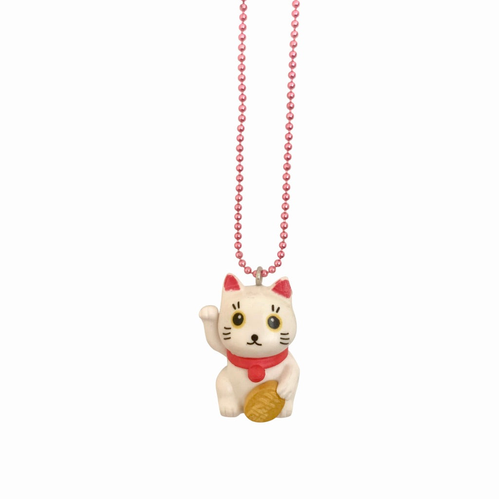 Ltd. Pop Cutie Lucky Cat Necklaces - 6 pcs. Wholesale