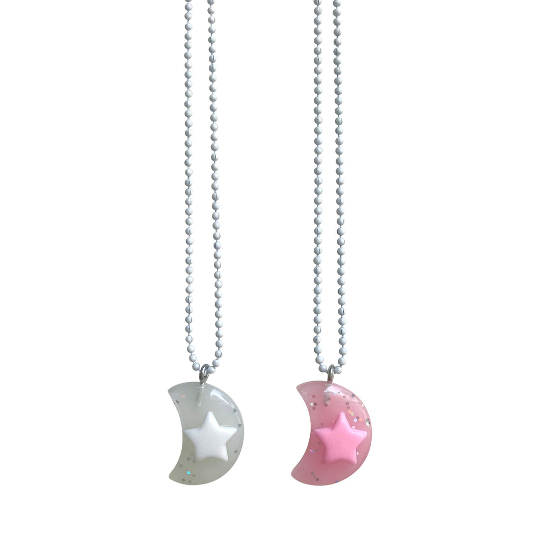 Pop Cutie Gacha Moon Necklaces  - 6 pcs Wholesale