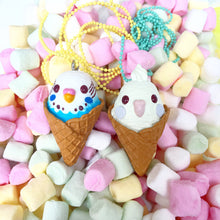 Load image into Gallery viewer, Ltd. Pop Cutie Parfait Parakeet Necklaces - 6 pcs. Wholesale
