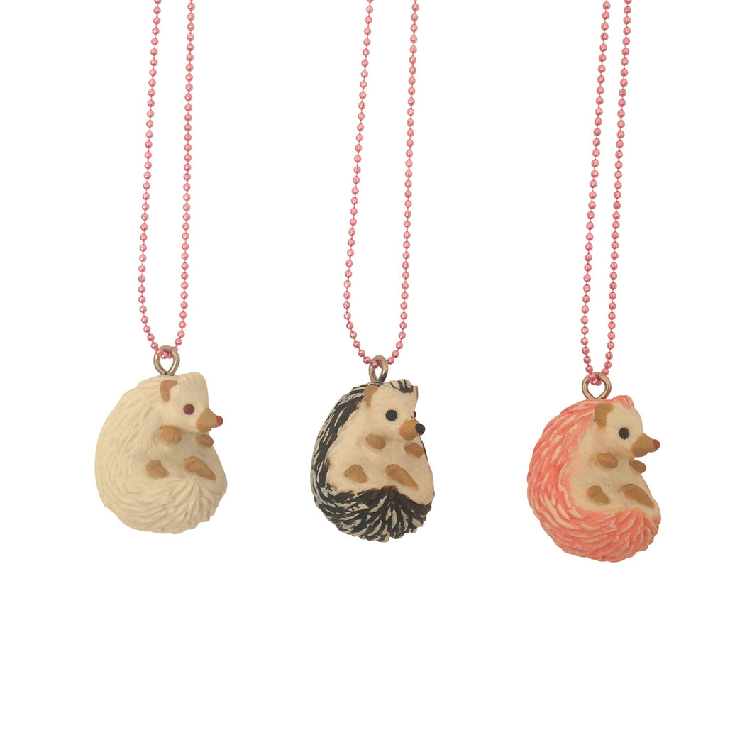 Ltd. Pop Cutie Hedgehog Necklaces - 6 pcs. Wholesale