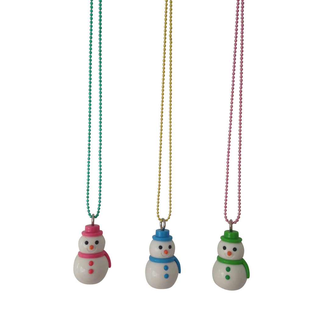 Pop Cutie X Iwako Snowman Christmas Necklaces Wholesale