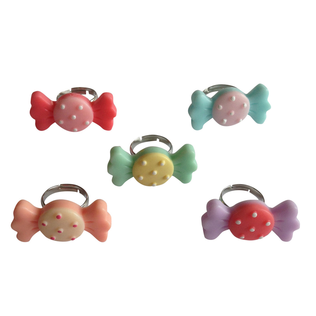 Pop Cutie Candy Rings (12 pcs) Wholesale