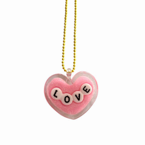 Ltd. Pop Cutie LOVE Necklaces - 6 pcs. Wholesale