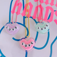 Load image into Gallery viewer, Ltd. Pop Cutie LOVE Necklaces - 6 pcs. Wholesale