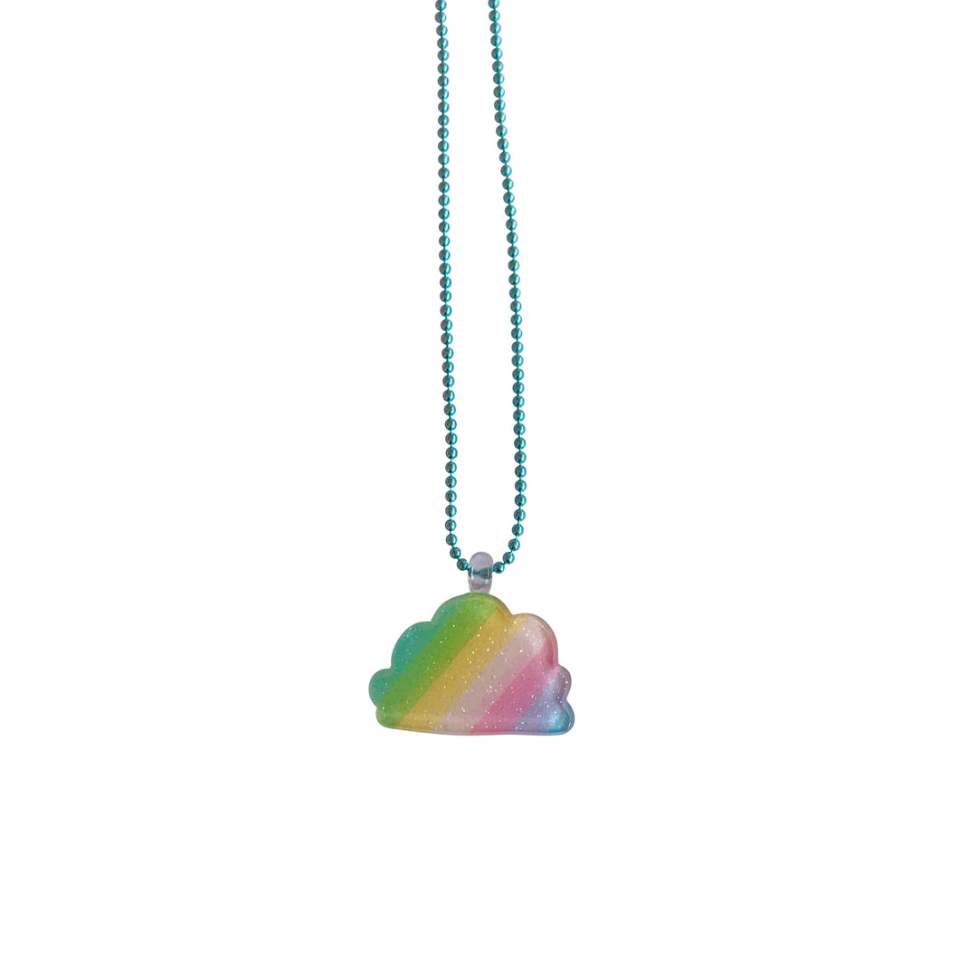 Pop Cutie Gacha Rainbow Cloud Necklaces