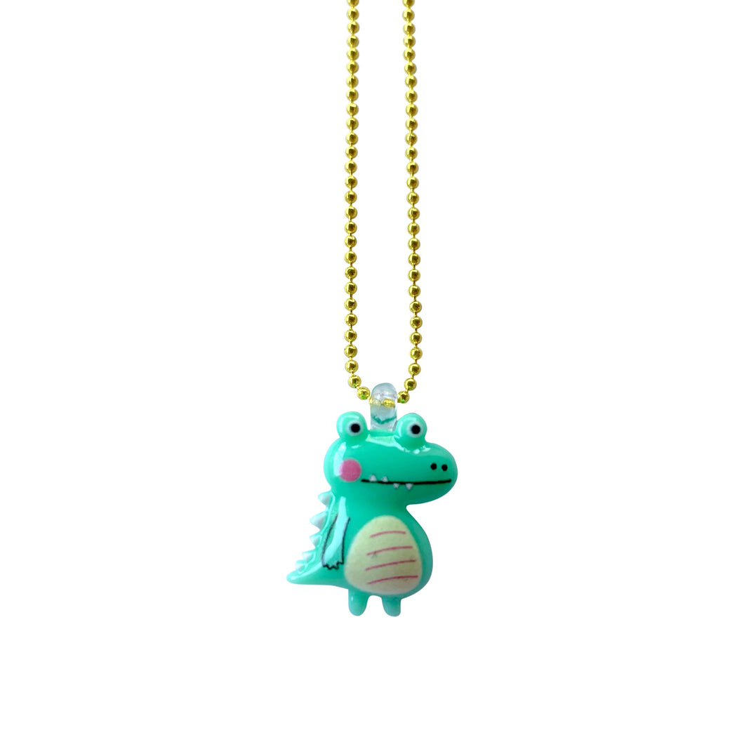 Pop Cutie Gacha Crocodile Necklaces