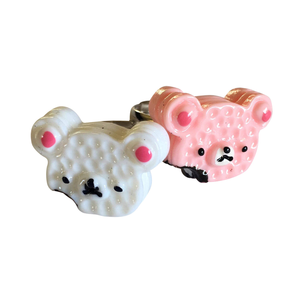 Pop Cutie Teddy Cake Ring (12 pcs) Wholesale