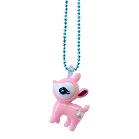 Pop Cutie Gacha Baby Fawn Necklaces