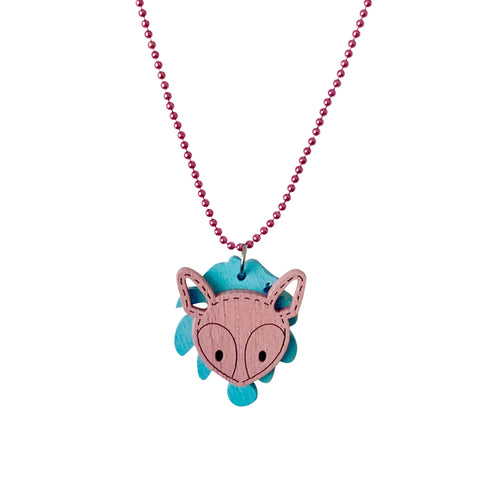 Pop Cutie ECO Palm Deer Necklace - 6 pcs. Wholesale