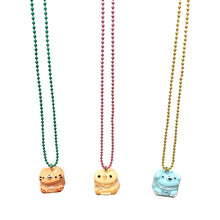 Load image into Gallery viewer, Pop Cutie Gacha Macaroon Animal Necklaces - 6 pcs. Wholesale