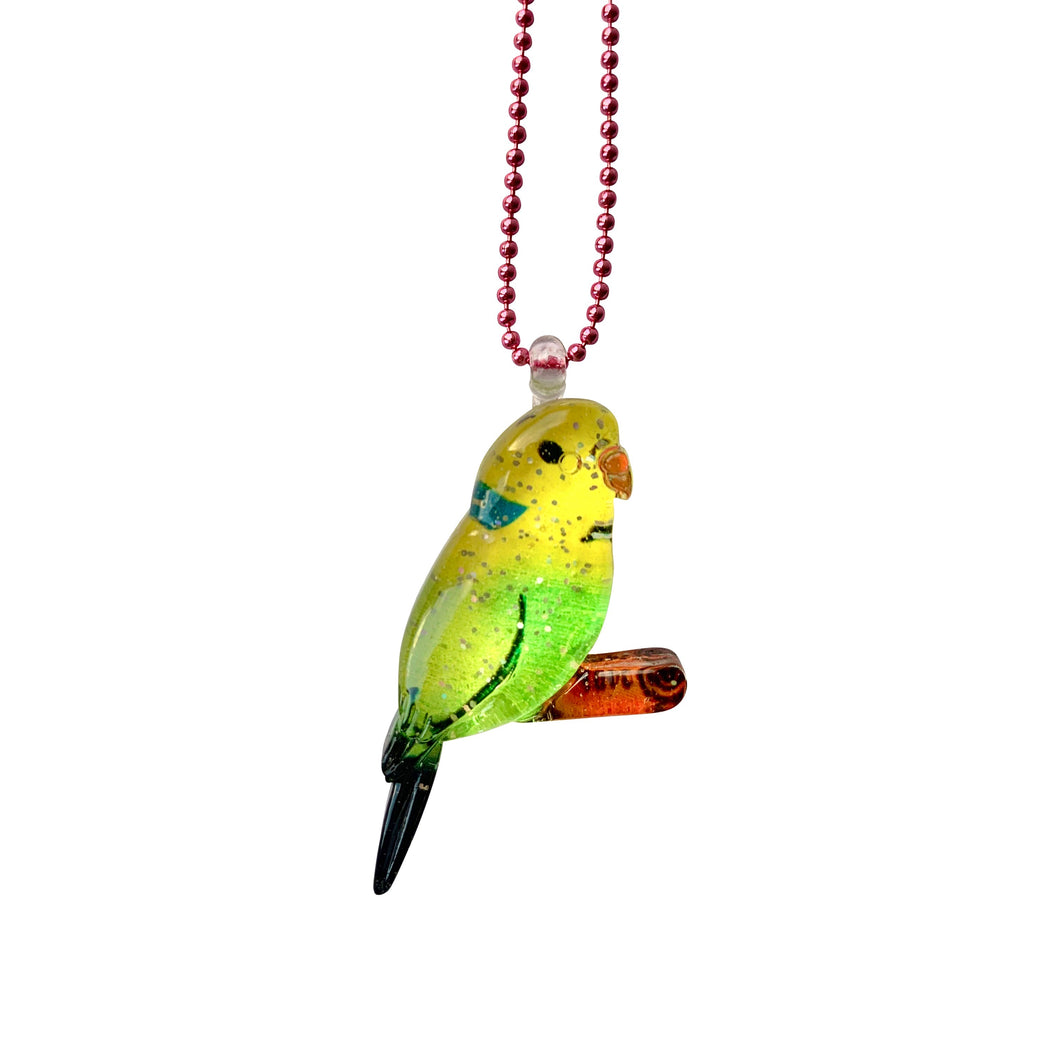 Ltd. Pop Cutie Glitter Bird Necklaces - 6 pcs. Wholesale