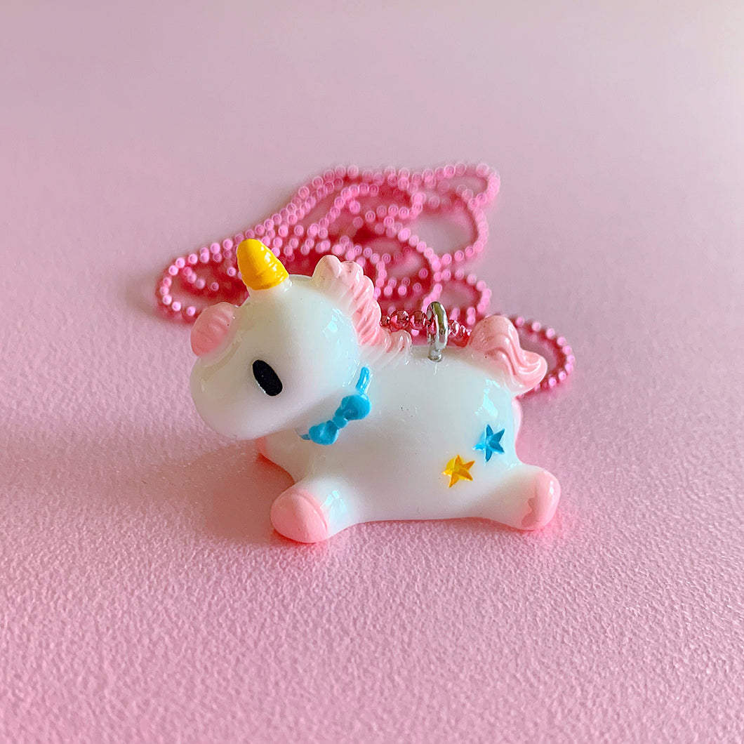 Ltd. Pop Cutie Baby Unicorn Necklaces - 6 pcs. Wholesale