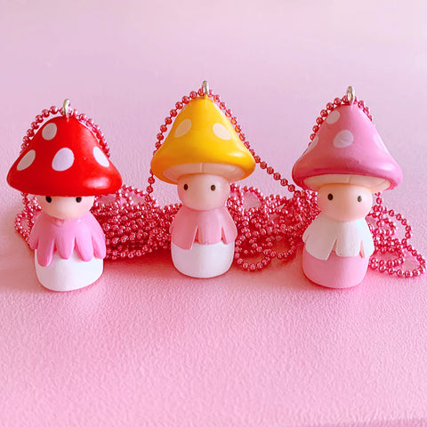 Ltd. Pop Cutie Forest Fairy Necklaces - 6 pcs. Wholesale