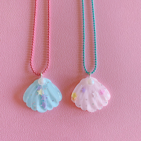 Pop Cutie Gacha Pearl Shell Necklaces