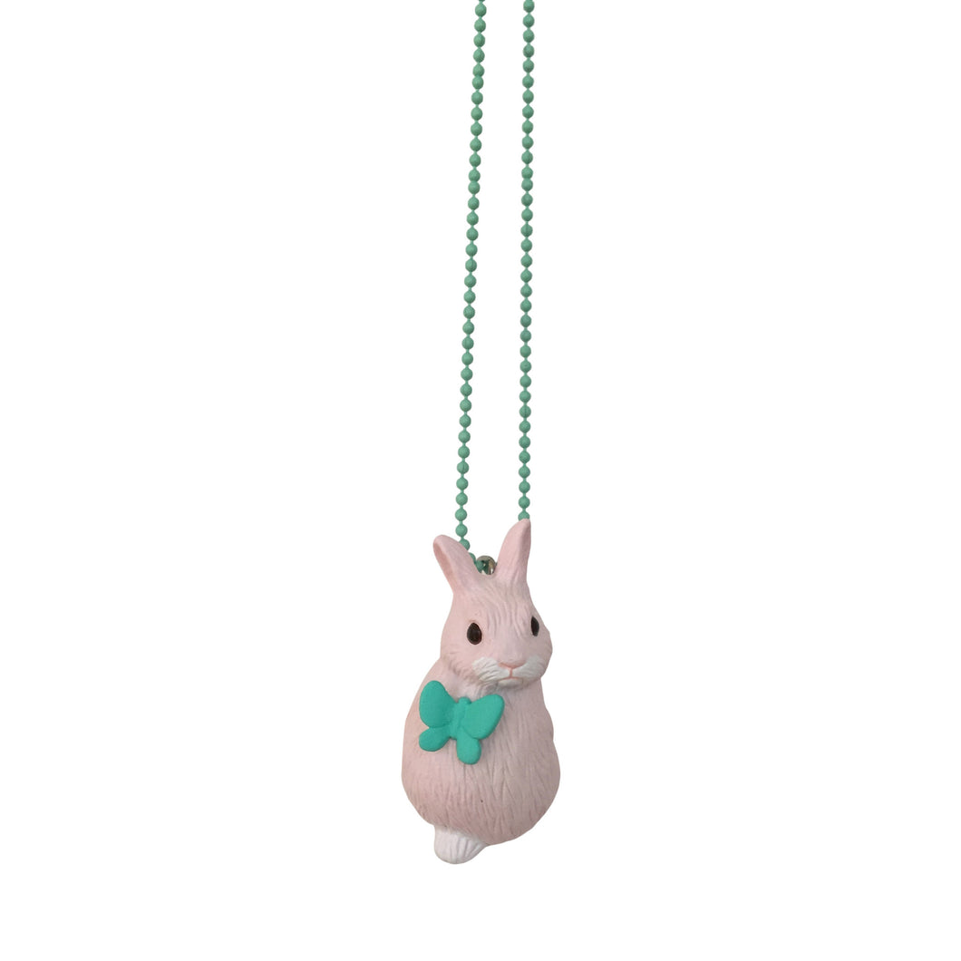 Ltd. Pop Cutie Flower Bunny Necklaces - 6 pcs. Wholesale