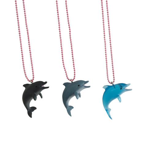 Ltd. Pop Cutie Dolphin Necklaces - 6 pcs. Wholesale